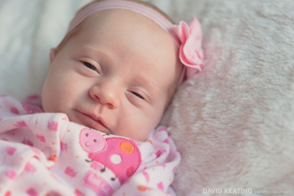 Newborn baby Nola. DKP Denver family photography